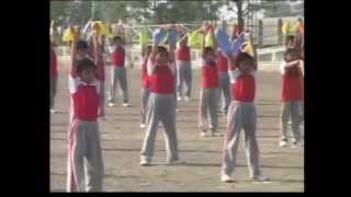HOLY SAINTS SCHOOL RAJKOT GUJ INDIA MUSICAL DRILL  2010