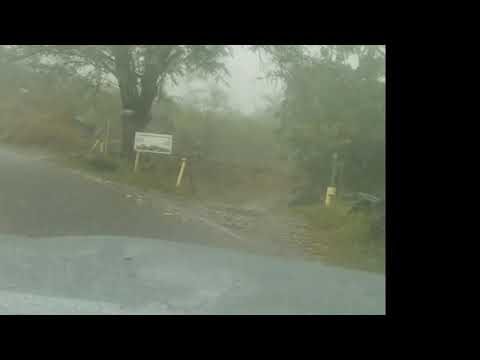 WEST OAHU, WAIANAE HAWAII POURING RAIN WATER FALLS...2WD WATER CROSSING IN A 2017 TOYOTA TACOMA 4X4