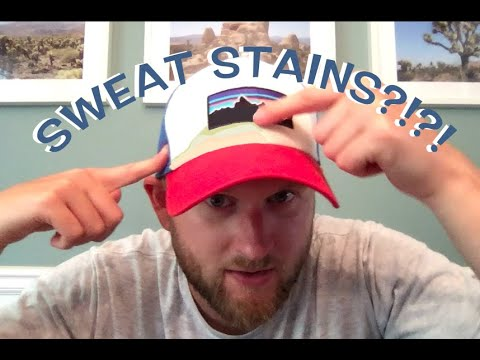 How to Remove Sweat Stains on a Hat