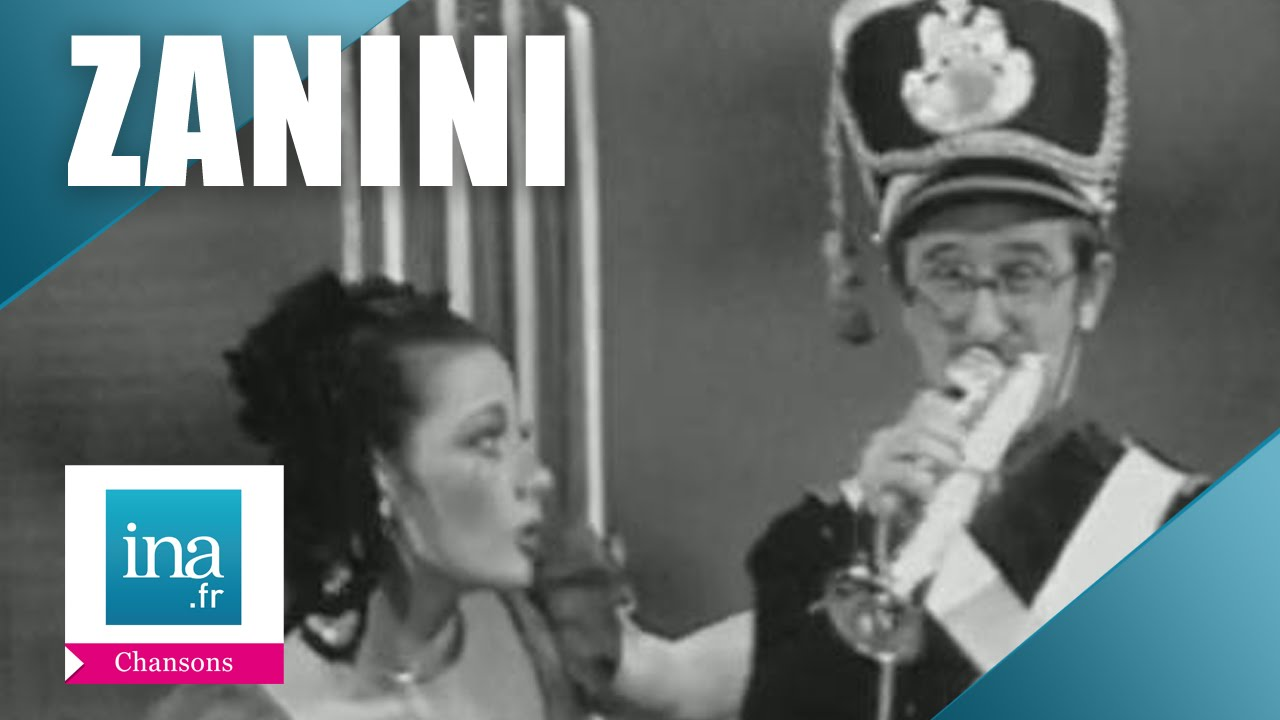 Zanini la trompette en bois live officiel archive - Gaston ouvrard je ne suis pas bien portant ...