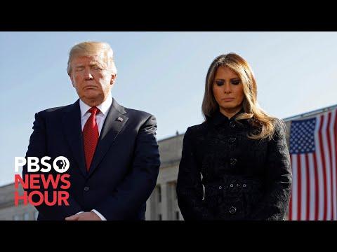 WATCH: Trump, Defense Secretary Esper take part in Pentagon 9/11 ceremony