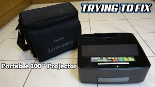 """Trying to FIX a BROKEN 100"""" Philips PROJECTOR - Philips Screeneo HDP1690"""