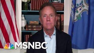 Gov. Lamont On Reopening Schools Amid Coronavirus | Hallie Jackson | MSNBC