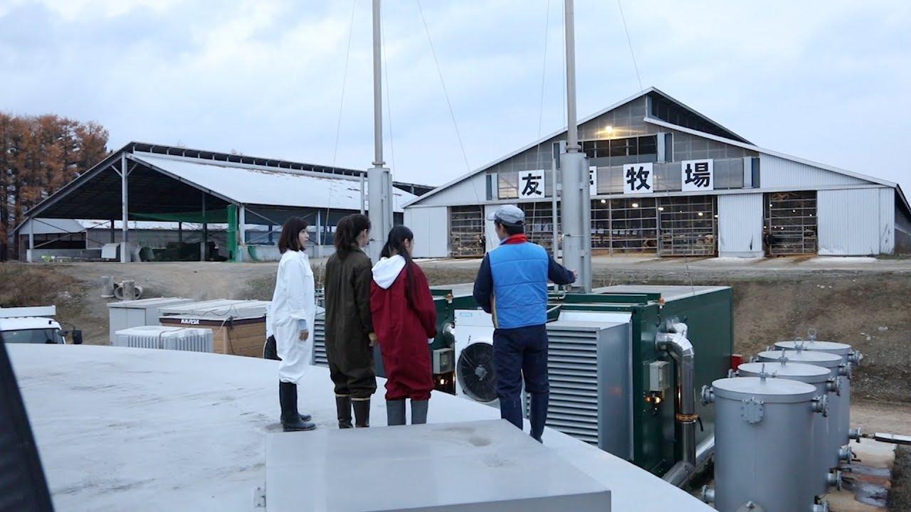 023 牛のフンを使った発電施設見学してみた~北海道は牧場日和~