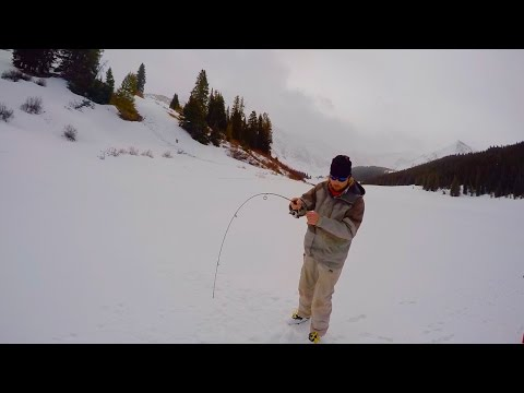 Colorado Wickedfisha- S2E2: Backcountry Ice Fishing For High Alpine Cutthroat Trout