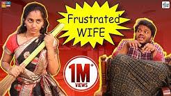 FRUSTRATED WIFE || Comedy Videos || By Ravi Ganjam || Tamada Media