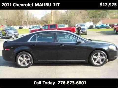 2011 Chevrolet MALIBU 1LT Used Cars Honaker VA. Modern Chevrolet Sales