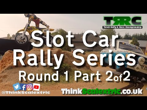 Possibly The Craziest Scalextric Slot Car Gymkhana Track!! Includes Tilt Bridge & Truck Jump