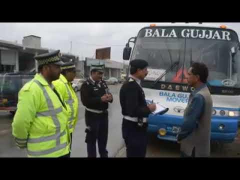 Bala Gujjar Surcharge In Haripur traffic police