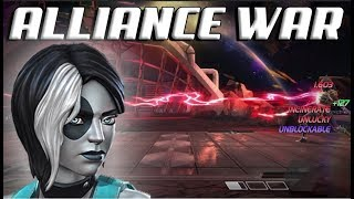 Alliance War | Tier 1| Domino Destroys 5/65 Morningstar Mini | Marvel Contest of Champions