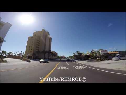 Driving Treasure Island, Florida Spring Break 2016