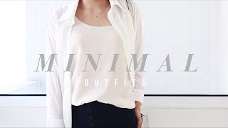 Minimal Outfits | October OOTM 2015