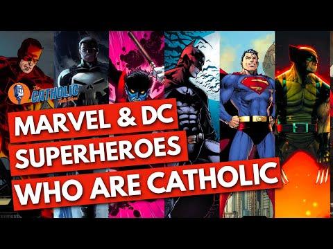 Episode 21: 7 Marvel & DC Comicbook Superheroes That Are Catholic   The Catholic Talk Show