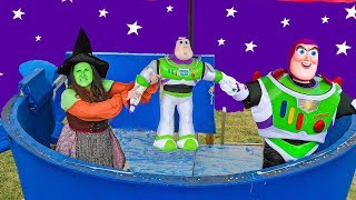 Toy Story 4 Buzz Lightyear Toy Taken from the Paw Patrol Lookout with the Assistant