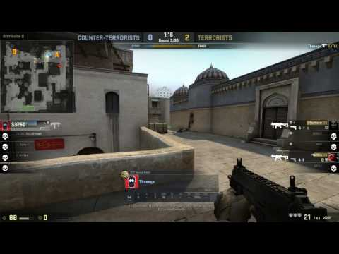 CS:GO - 2 ACE Global/Supreme/Sas2 meccsen