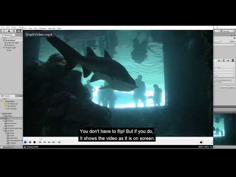 Augmented Reality Tutorial: AR Video Player for Unity and Vuforia Appplications #Shark App