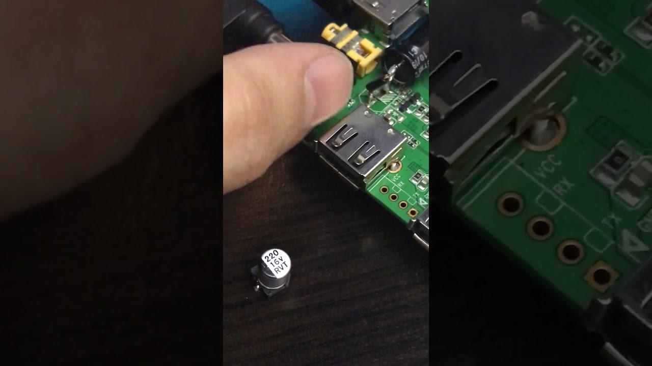 H96 pro+ power issue repair