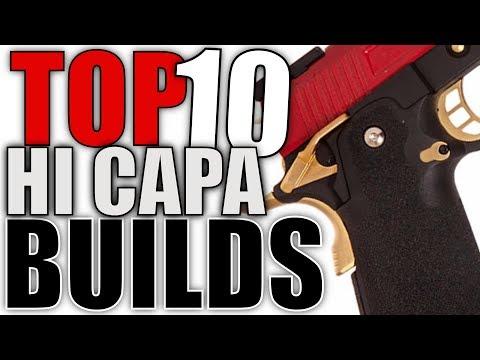 Top 10 Hi Capa Airsoft Builds - Amazing Airsoft Pistols!