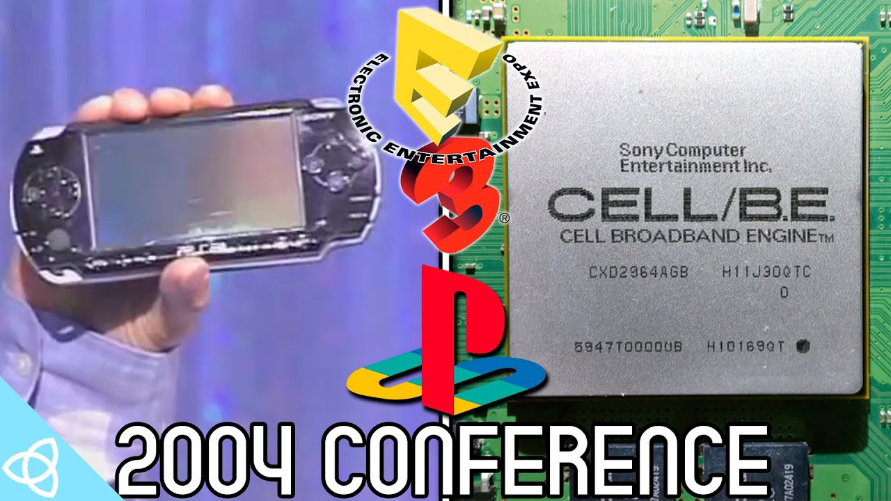 Playstation E3 2004 Press Conference Highlights