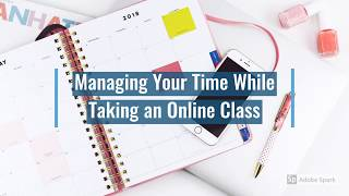 Time Managment Tip for Online Classes - Fast Forward College Coaching