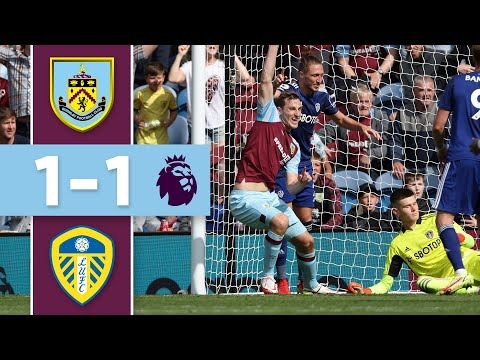 WOOD AND BAMFORD ON TARGET IN DRAWING |  Burnley v Leeds |  Premier league