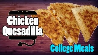Chicken Quesadilla Taco Bell Style