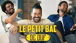 LE PETIT BAC DE OUF (feat Jeremy Nadeau) #1