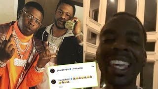 Blac Youngsta's Bro was 🔫 MURDERED last night, Young Dolph LAUGHED