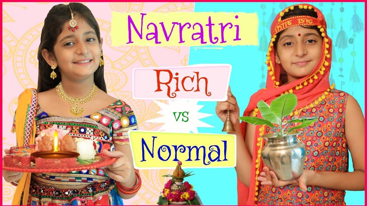 Download KIDS In NAVRATRI - Rich Vs Normal   #RolePlay #Sketch #Dandiyanight #Garba #Mymissanand