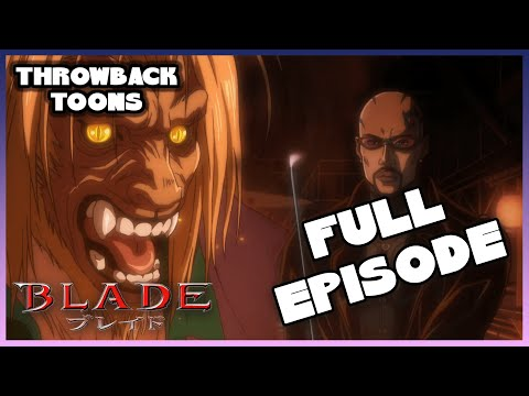 Marvel Anime: Blade | His Name is...Blade | Season 1 Ep. 1 Full Episode | Throwback Toons