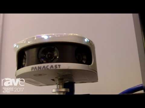 ISE 2017: Altia Systems Shows Off Panacast Panoramic 4K Plug and Play Video Camera for Videocasting