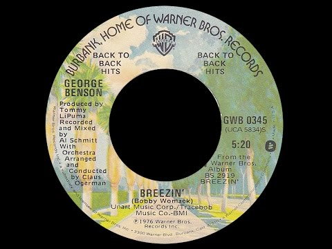 George Benson ~ Breezin' 1976 Jazzy Purrfection Version