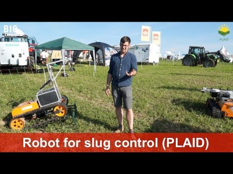Robot for slug control in arable farming (Uni Kassel, KommTek and Julius Kühn Institut)