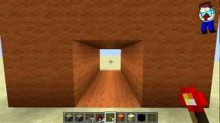 Minecraft: Урок№68: Гипер-дверь 2x2 (Невидимые поршни!)