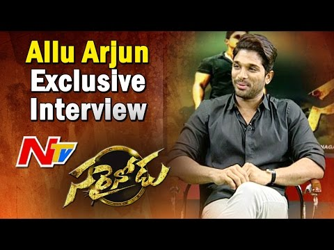 Allu Arjun & Boyapati Srinu Exclusive Interview | Sarrainodu | NTV