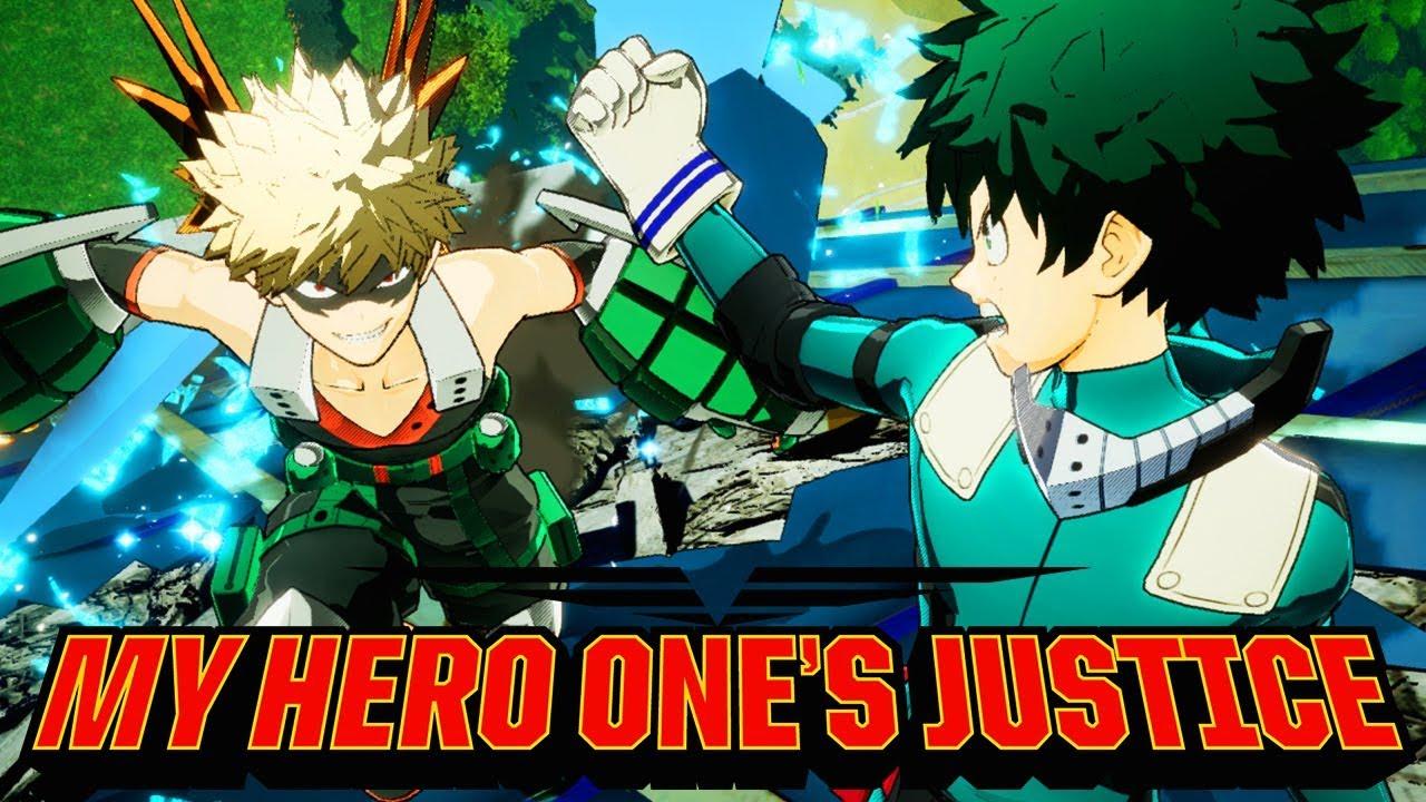 my hero one s justice gameplay my hero academia game youtube