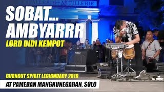 Download lagu DIDI KEMPOT ft. DORY - KANGEN NICKERIE - LIVE At Burn Out Festival, Solo