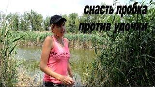 Рыбалка На Снасть Пробка и Удочки.