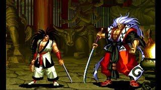 Samurai Shodown III: Haohmaru playthrough / lvl-4 【60fps】