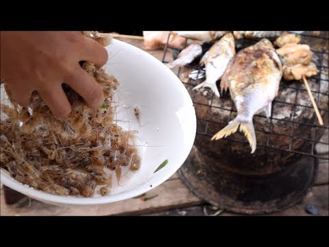 How to cook awesome asian food  in mekong river - Thakhek laos