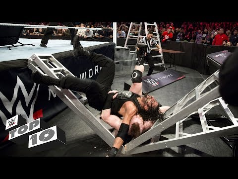 Thumbnail: Extreme TLC Match moments: WWE Top 10, Oct. 21, 2017
