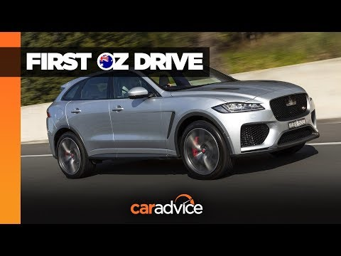 2020 Jaguar F-Pace SVR Review | CarAdvice