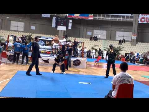 WMKF World Championships - Intermediate Kickboxing Points - Olly