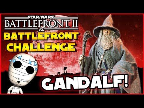 Gandalf Challenge! - Battlefront Challenge #24 - Star Wars Battlefront 2 Loadout Challenge thumbnail