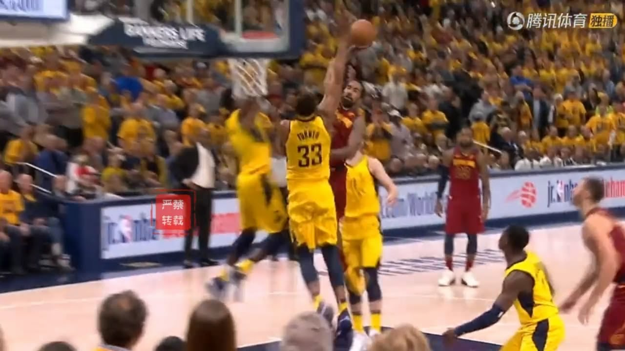 JR.Smith Tried To End The Entire Pacers With The Dunk Of The Year!