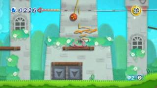 Quick Look: Kirby's Epic Yarn (Video Game Video Review)