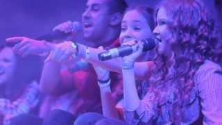 Монатик ft. Open Kids - Важно Live (HD) at 2013 Open Art Studio Birthday Party