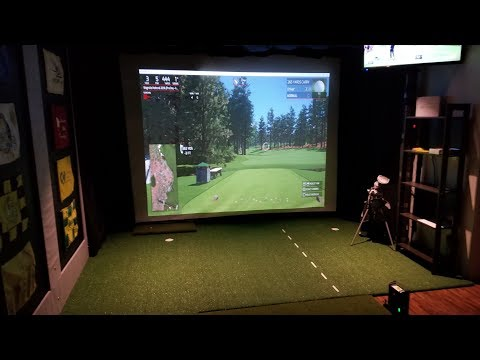 My Golf Simulator Room