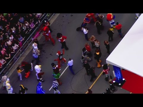 Sky5 Video: College Mascots Turn Out For CMA Awards