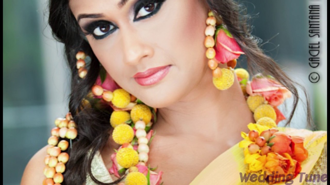 Holud Shondha Wedding Cosmetics Makeup Part 03